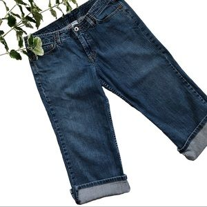 Lucky Brand Jeans Jynx Crop Capri Wide Leg Size 8